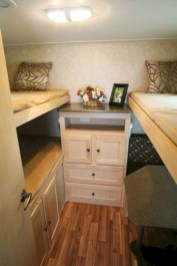 Cozy RV Bed Remodel Ideas On A Budget 26
