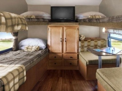 Cozy RV Bed Remodel Ideas On A Budget 40