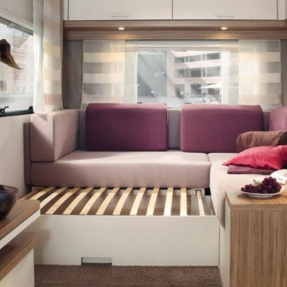 Cozy RV Bed Remodel Ideas On A Budget 46