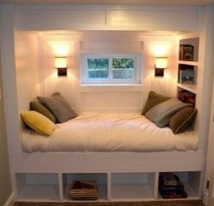 Cozy RV Bed Remodel Ideas On A Budget 48