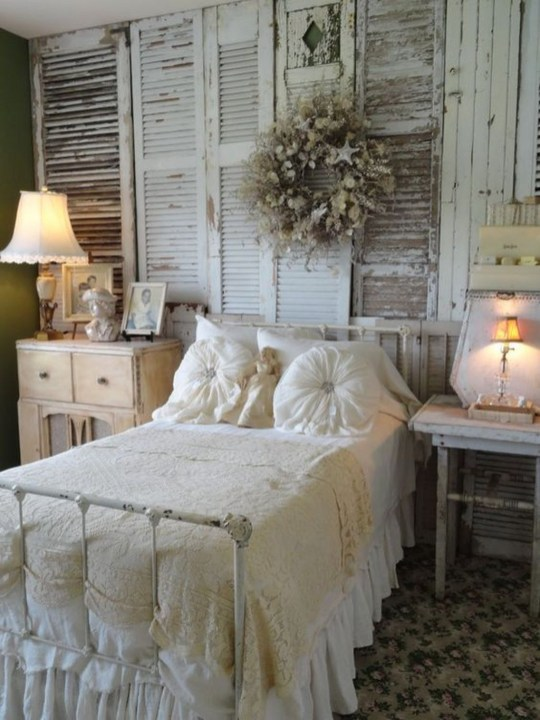 Cute Shabby Chic Bedroom Design Ideas For Your Daughter 45