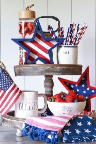 Elegant Vintage 4th Of July Home Decoration Ideas 20