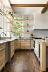 Fantastic Farmhouse Kitchen Cabinets Ideas For Home 31