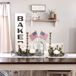 Inexpensive 4th Of July Decoration Ideas In The Dining Room 04