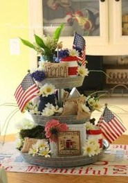 Inexpensive 4th Of July Decoration Ideas In The Dining Room 07