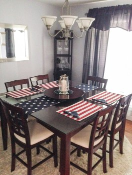 Inexpensive 4th Of July Decoration Ideas In The Dining Room 09