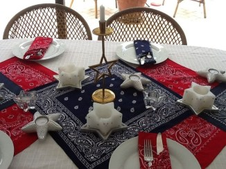 Inexpensive 4th Of July Decoration Ideas In The Dining Room 29