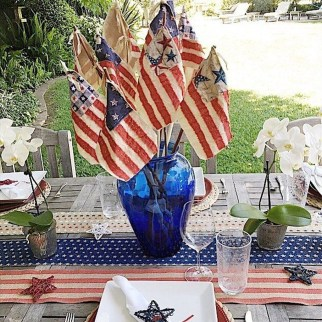 Inexpensive 4th Of July Decoration Ideas In The Dining Room 32