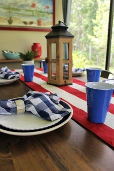 Inexpensive 4th Of July Decoration Ideas In The Dining Room 41
