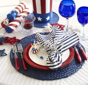 Inexpensive 4th Of July Decoration Ideas In The Dining Room 45
