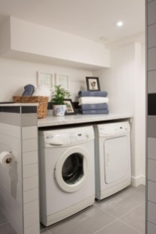 Minimalist And Small Laundry Room Ideas For Small Space 48