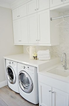 Minimalist And Small Laundry Room Ideas For Small Space 51