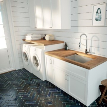 Minimalist And Small Laundry Room Ideas For Small Space 52