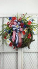 Pratiotic Handmade 4th Of July Wreath Ideas 01