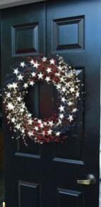Pratiotic Handmade 4th Of July Wreath Ideas 14