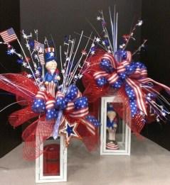 Pratiotic Handmade 4th Of July Wreath Ideas 53