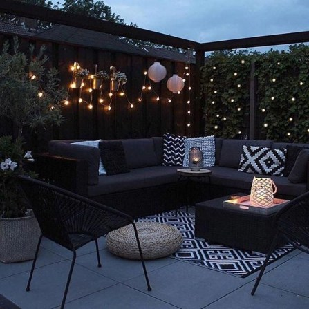 Stunning Balcony Decoration Ideas With Seating Areas 12