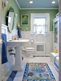 Stylish Coastal Bathroom Remodel Design Ideas 19