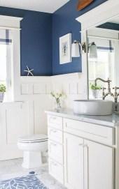 Stylish Coastal Bathroom Remodel Design Ideas 22