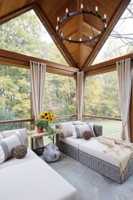 Unordinary Sunroom Design Ideas For Interior Home 05