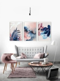 Amazing Wall Art Design Ideas For Living Room 06
