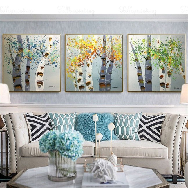Amazing Wall Art Design Ideas For Living Room 30