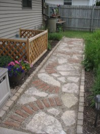 Awesome Small Garden Ideas With Stone Path 39