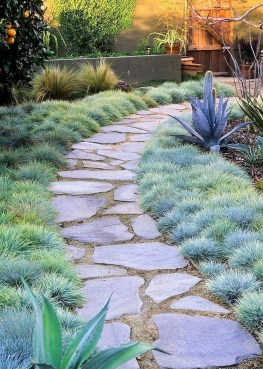 Awesome Small Garden Ideas With Stone Path 46