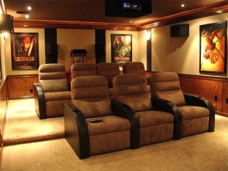 Best Small Movie Room Design For Your Happiness Family 04