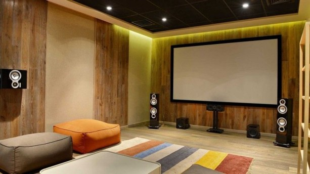 Best Small Movie Room Design For Your Happiness Family 15