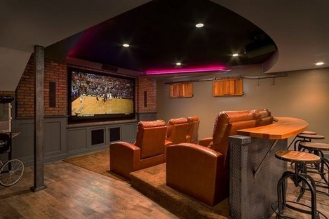 Best Small Movie Room Design For Your Happiness Family 23