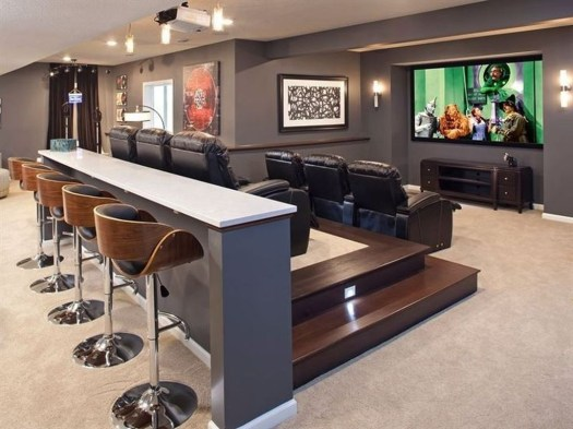 Best Small Movie Room Design For Your Happiness Family 37