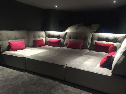 Best Small Movie Room Design For Your Happiness Family 39
