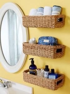 Brilliant Bathroom Storage Ideas For Your Bathroom Design 03