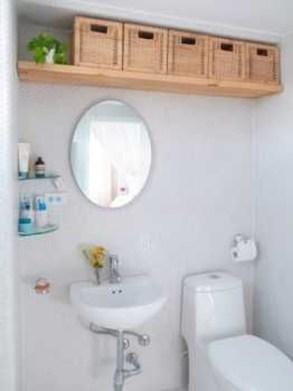 Brilliant Bathroom Storage Ideas For Your Bathroom Design 18