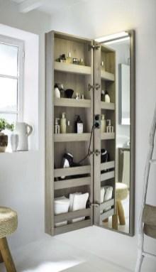 Brilliant Bathroom Storage Ideas For Your Bathroom Design 25