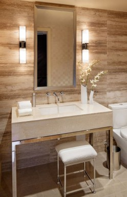 Elegant Bathroom Lighting Ideas To Brighten Your Style 33