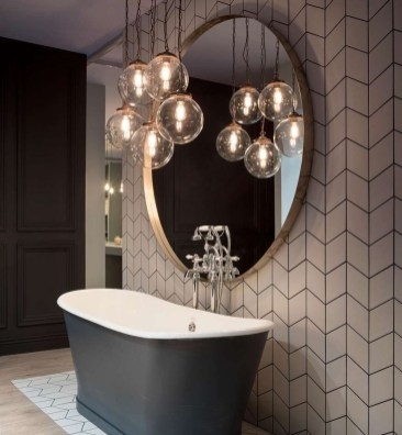 Elegant Bathroom Lighting Ideas To Brighten Your Style 42