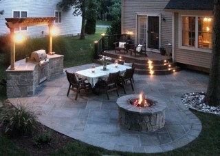Inspiring Backyard Patio Design Ideas With Beautiful Landscaping 12