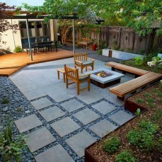 Inspiring Backyard Patio Design Ideas With Beautiful Landscaping 14