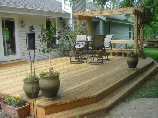 Inspiring Backyard Patio Design Ideas With Beautiful Landscaping 15
