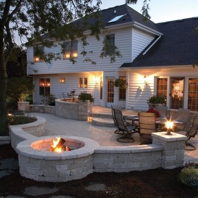 Inspiring Backyard Patio Design Ideas With Beautiful Landscaping 30