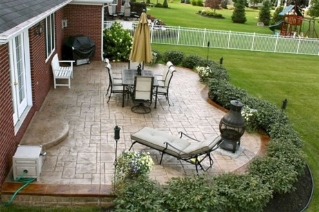 Inspiring Backyard Patio Design Ideas With Beautiful Landscaping 31