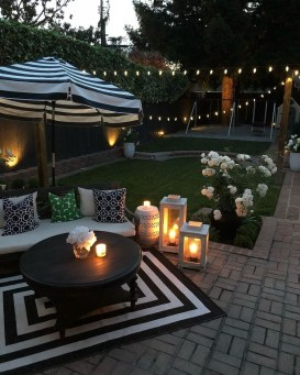 Inspiring Backyard Patio Design Ideas With Beautiful Landscaping 41