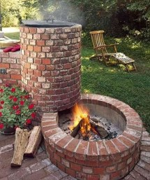 Marvelous Outdoor Fire Pit Ideas To Enjoying This Summer 15