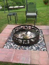 Marvelous Outdoor Fire Pit Ideas To Enjoying This Summer 30