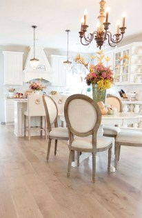 Stunning Wood Floor Ideas To Beautify Your Kitchen Room 03