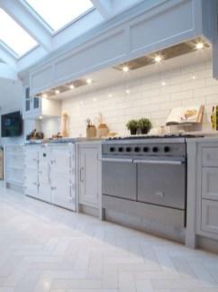 Stunning Wood Floor Ideas To Beautify Your Kitchen Room 06