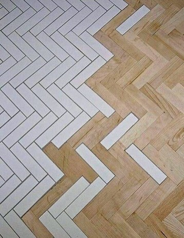 Stunning Wood Floor Ideas To Beautify Your Kitchen Room 21