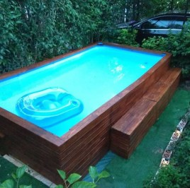 The Best Swimming Pool Design Ideas For Summer Time 07